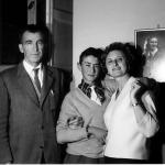 Ondina con marito e figlio 14 anni