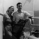 Ondina e marito gita barca